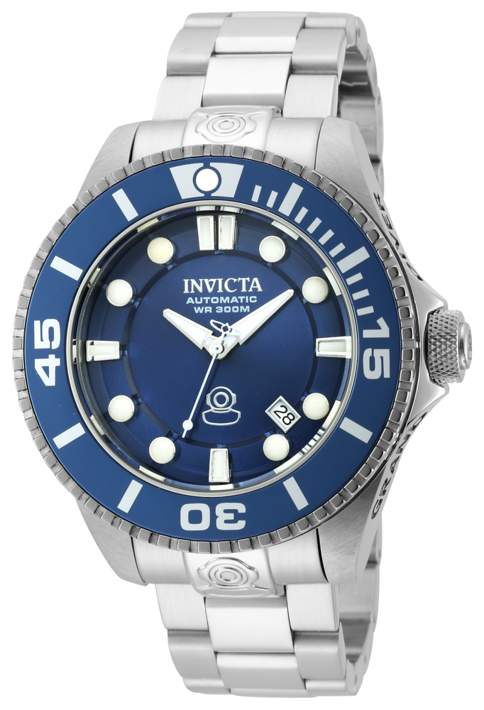 Invicta Pro Diver Automatic Watch - Stainless Steel case Stainless Steel band - Model 19799