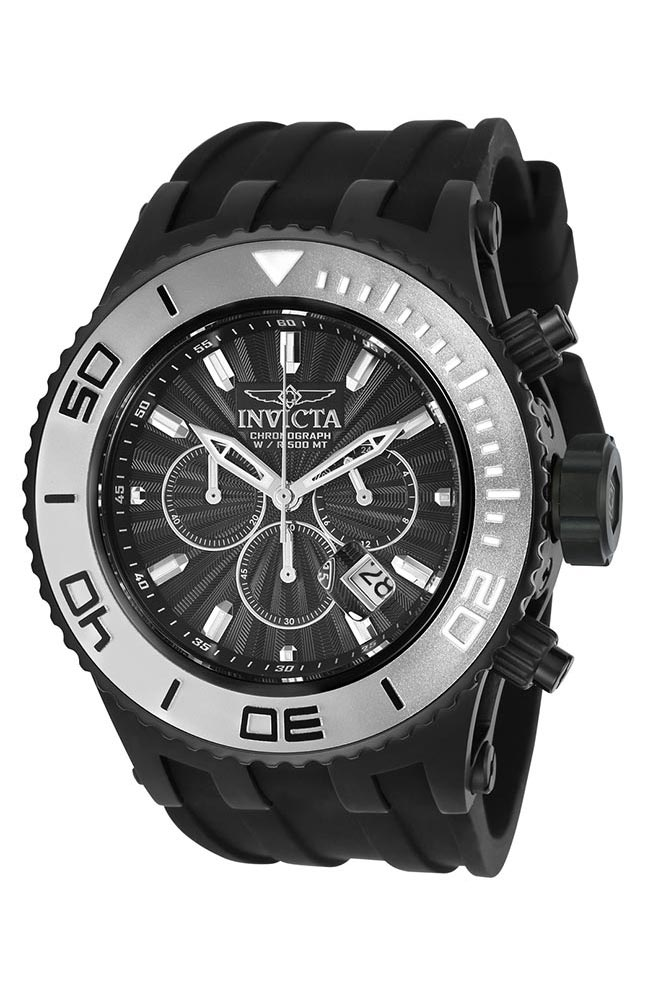Vintage Watches For Sale >> Invicta Subaqua Specialty Mens Quartz 52mm Black Case Black Dial - Model 24254
