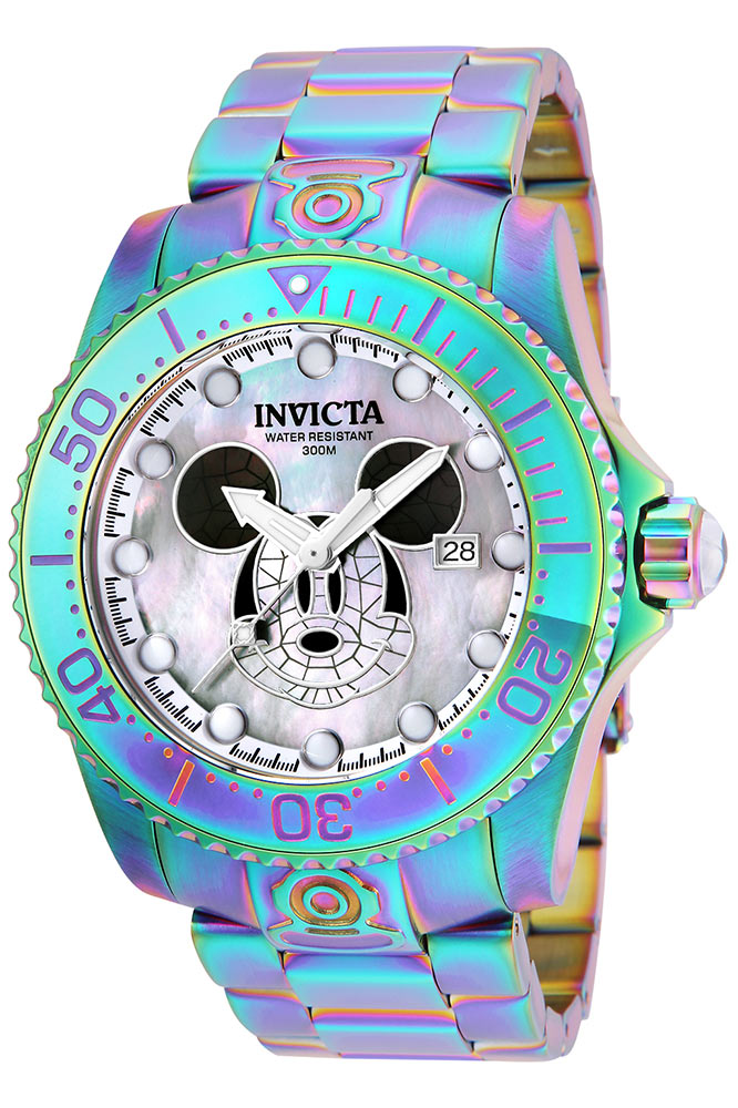 invicta disney limited edition mickey mouse mens automatic