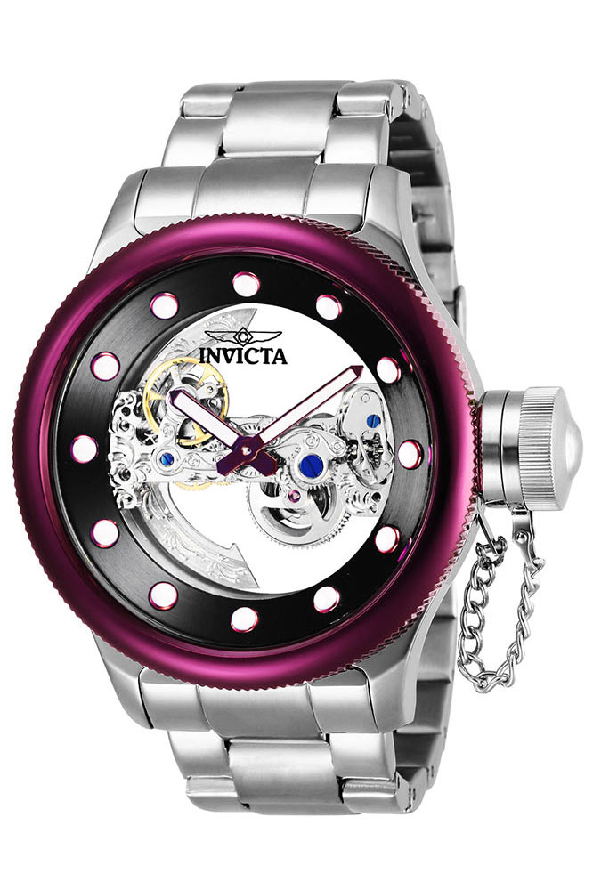 8b89bc3dc6f Invicta Russian Diver Mens Automatic 52mm Stainless Steel ...