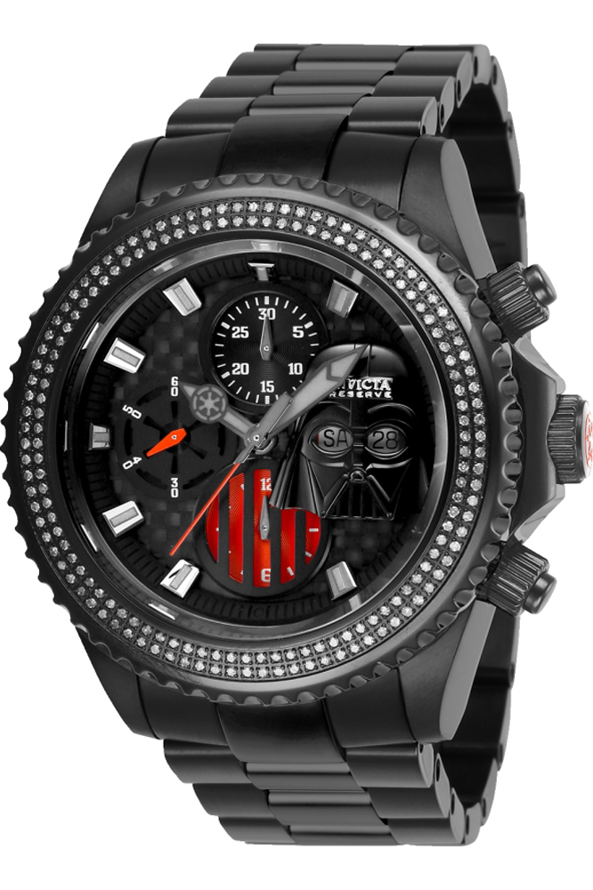 Invicta Star Wars Limited Edition Darth Vader Diamond Mens Automatic 47mm Model 27164