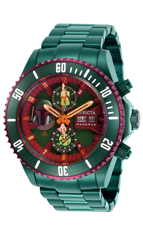 Invicta Star Wars Limited Edition Boba Fett Mens Automatic 47mm - Model 27166