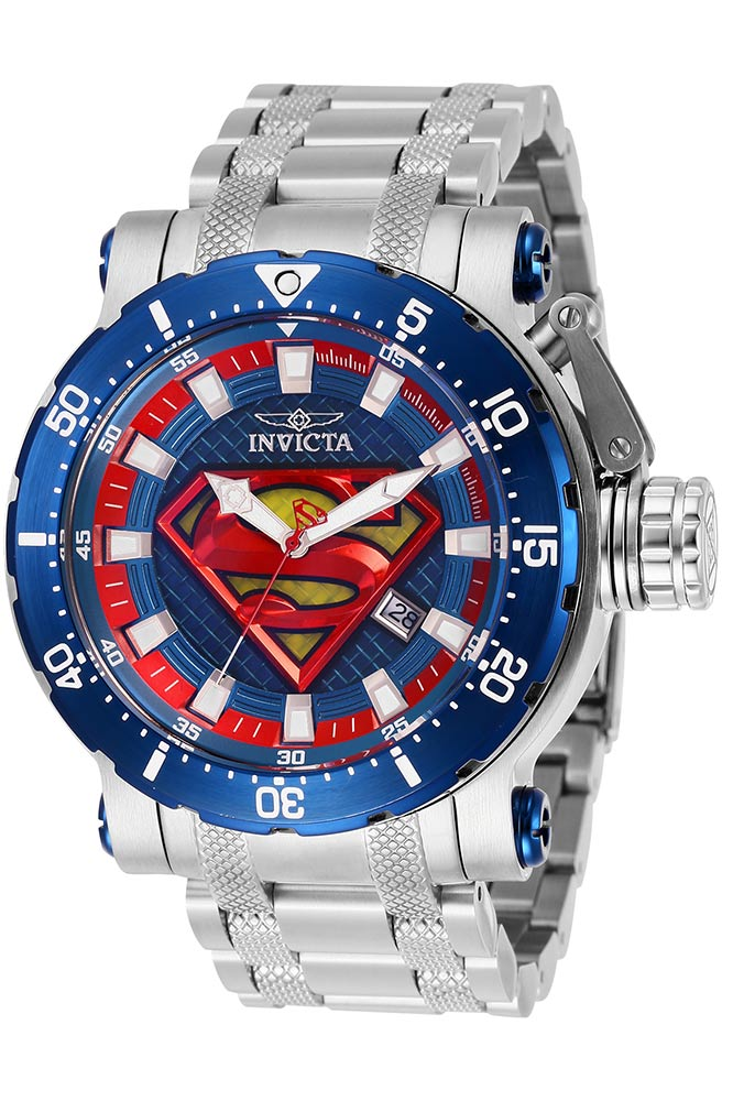 invicta dc comics limited edition superman mens automatic