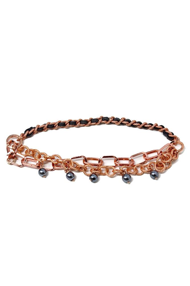 Invicta Elements Rose Gold Bracelet 210mm Women - Model 34917