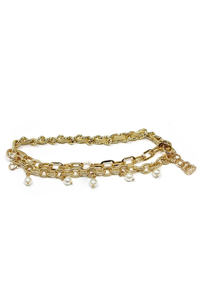 Invicta Elements Gold Bracelet 210mm Women - Model 34918