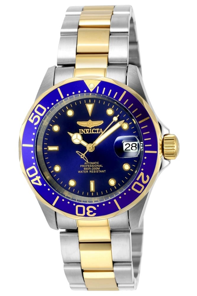 Invicta Pro Diver Watch In Gold Stainless Steel Model 8928