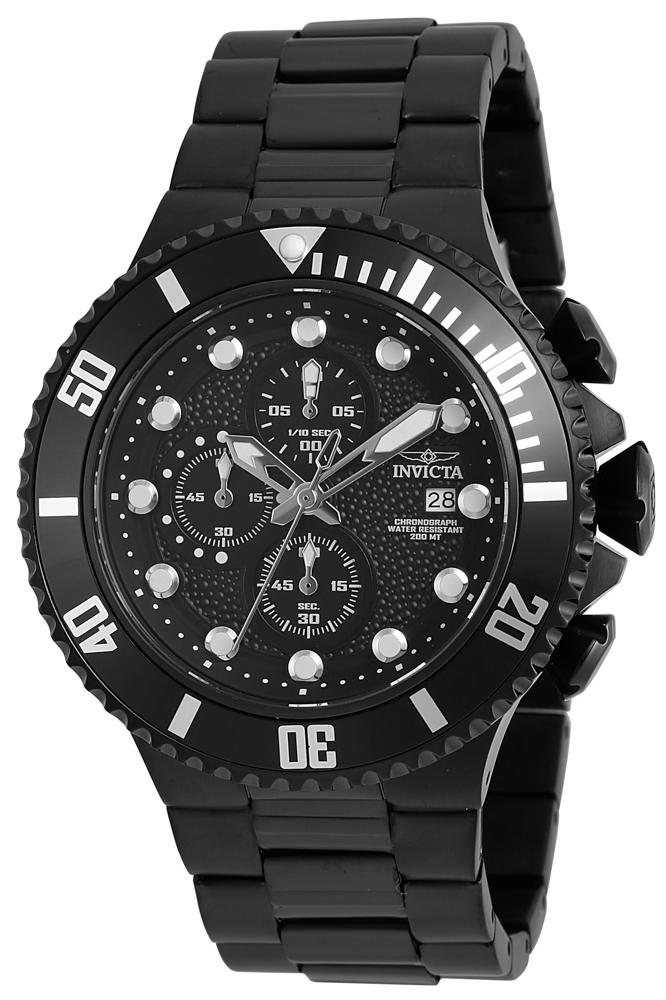Invicta Pro Diver Men Watches In Black Model 90080