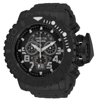 Invicta SHAQ 0.24 Carat Diamond Men's Watch - 62mm, Black (33731)