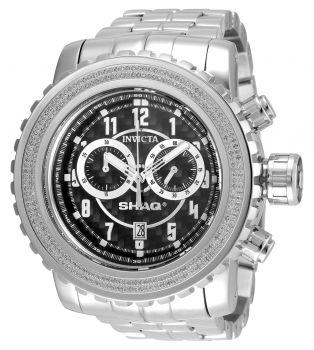 Invicta SHAQ 1.01 Carat Diamond Men's Watch - 58mm, Steel (33758)