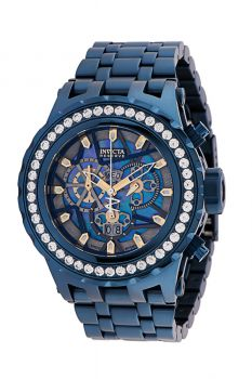 Invicta Reserve Specialty Subaqua Men's Watch w/ Metal, Mother of Pearl & Oyster Dial - 52mm, Dark Blue (33991)
