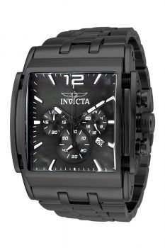 Invicta Speedway Men's Watch w/ Mother of Pearl Dial - 47mm, Black (34824)