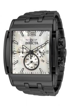 Invicta Speedway Men's Watch w/ Mother of Pearl Dial - 47mm, Black (34825)