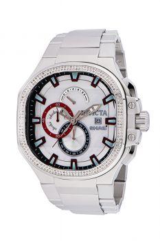 Invicta SHAQ 0.97 Carat Diamond Men's Watch w/ Mother of Pearl Dial - 52mm, Steel (34944)
