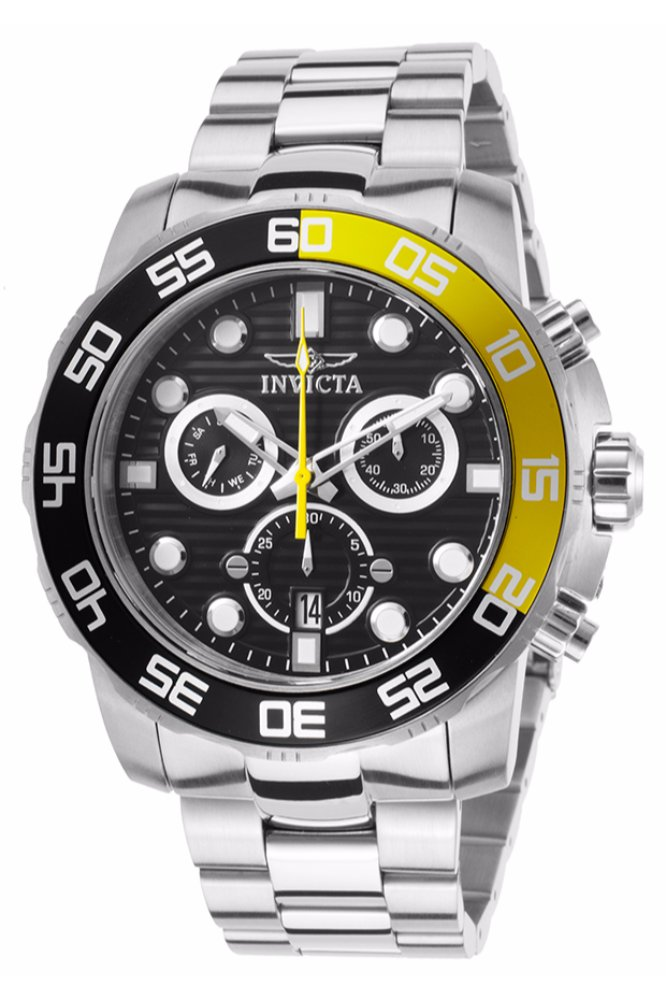 Invicta Pro Diver SCUBA Swiss Movement Quartz Watch - Stainless Steel case Stainless Steel band - Model 21553
