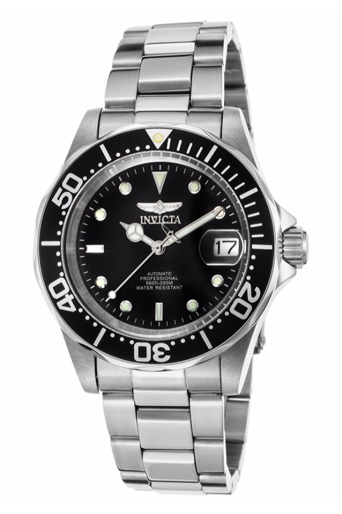 Invicta pro diver watch in stainless steel at - 40mm dive watch ...