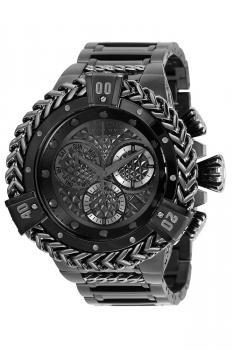 Invicta Reserve Herc Quartz Men's Gunmetal, Black Watch - 53mm - (35378)