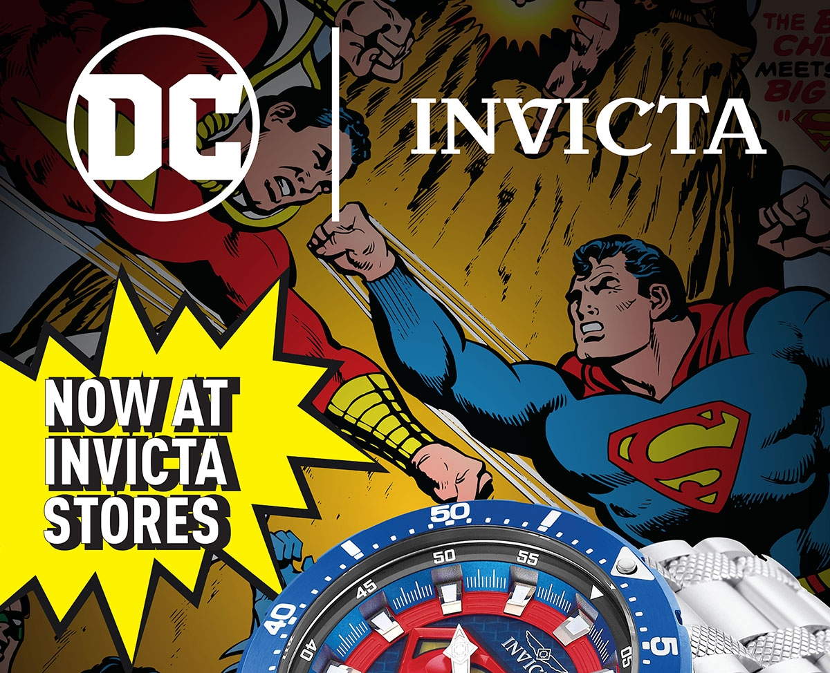 DC Comics Invicta Watches