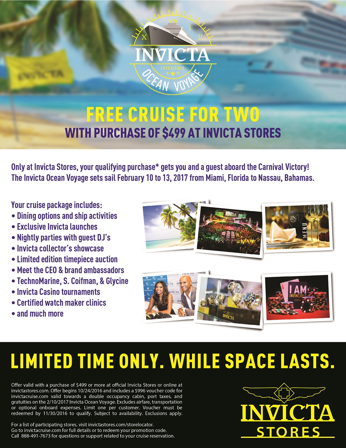 Team Invicta Blog Free Cruise For 2 With 499 Purchase
